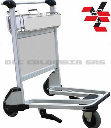 3 Wheel Airport Trolley (Aluminum Alloy) DLC005