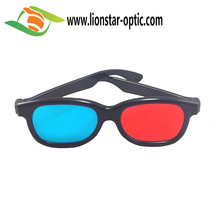 3D Plastic glasses Red Blue Cyan Movie Game 3D Anaglyph Glasses