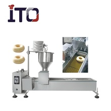 DF9T Industrial Automatic Donut Making Machine