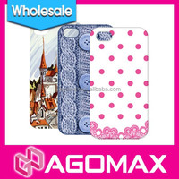 CUCUMAX ultra thin PC phone case for iPhone 4/4S with exquisite gift box