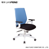 Hot sale deluxe recline office chair with nylon parts