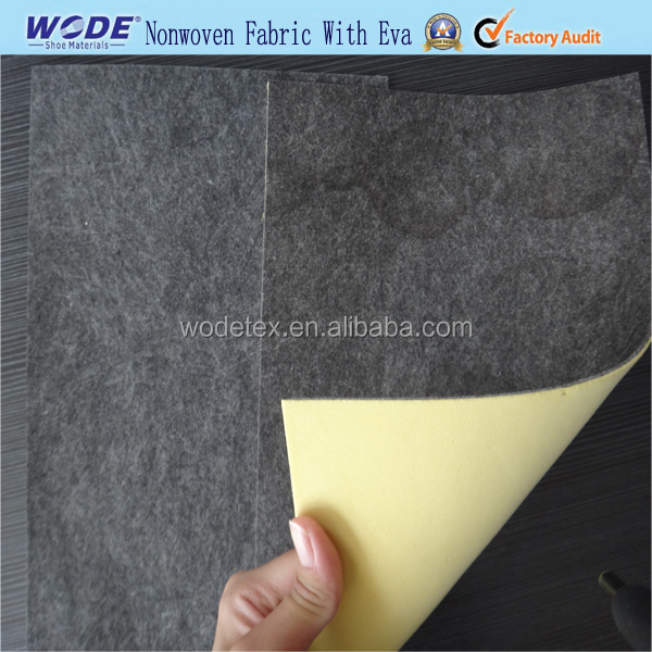 Shoe repair materials nonwoven fiber insole sheet with foam EVA