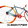 Ruder Berna Taiwan Made cube Eightper fixed gear bikes adult chopper bike