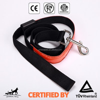 Custom Print Logo Wholesale Led Dog Collar and Leash