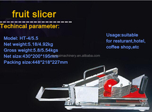 Manual fruit slicer / manual laranja limão slicer