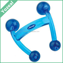 Wholesale plastic comfortable H shaped manual waist body massager