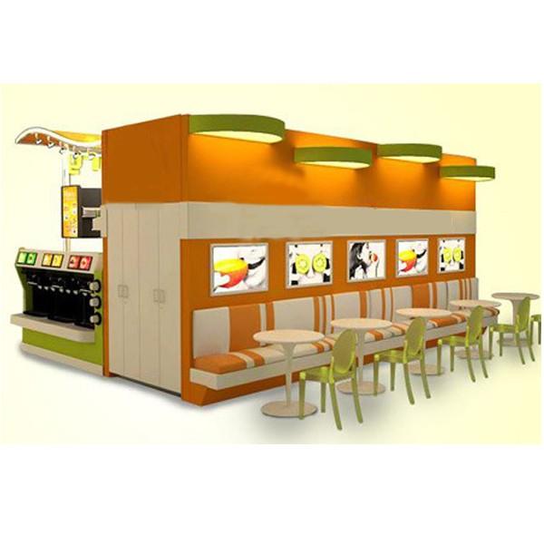 Hot sale indoor food kiosk design for ice cream shop buy for Indoor food kiosk design