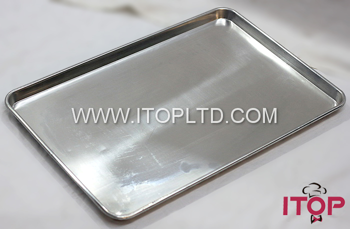 40*60cm square bakery aluminium baking tray for oven