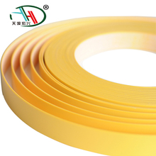 High glossy pre-glued pvc edge bands for laminate board