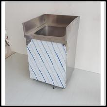 Commercial free standing restaurant commercial stainless steel industrial kitchen sink Hand Wash Basin