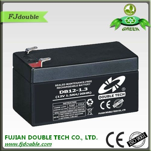 Best price sealed lead-acid battery 12v maintenance free battery 1.3ah