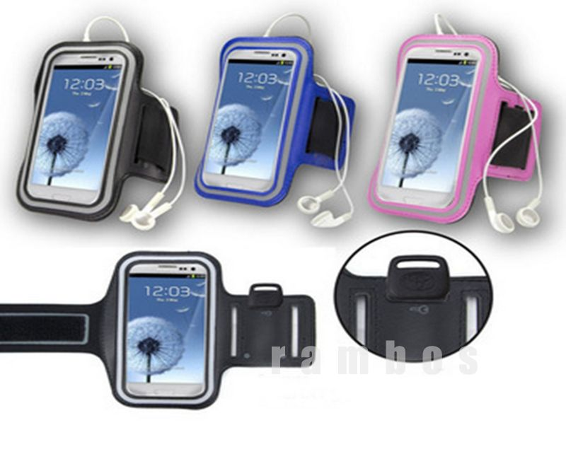 Arm Belt Cover Sports Phone Armband Holder Pouch Case Bag for Samsung Galaxy S3 i9300
