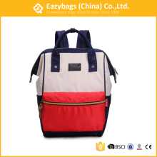 Wholesale college student <strong>school</strong> waxed canvas backpack