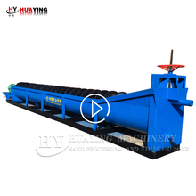 New screw sand washing machine plant for sale