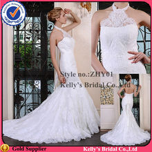 halter dresses styles without sleeves&appliqued lace and back zipper design mermaid skirt pictures of women in nightgowns