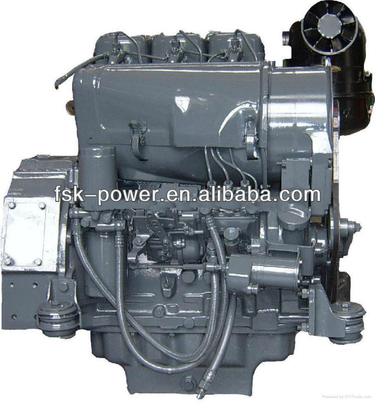 Deutz F3L912W diesel engine for construction machinery engineering machinery