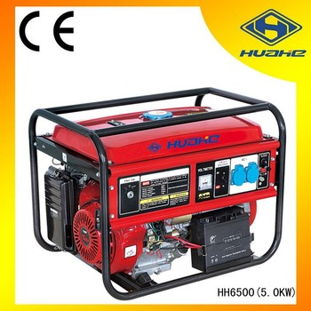huahe 5KW, 13HP Electric Gasoline Generator
