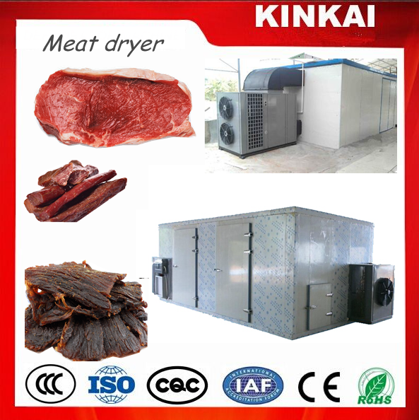 KINKAI hot air meat dryer/meat drying processing machine for sale