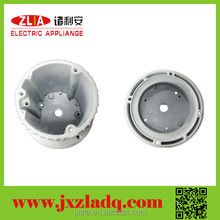 extruded aluminum heatsink profile for downlight spotlight