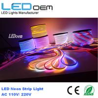 RGB Emitting Light Neon Thread Neon Light for Landscaping