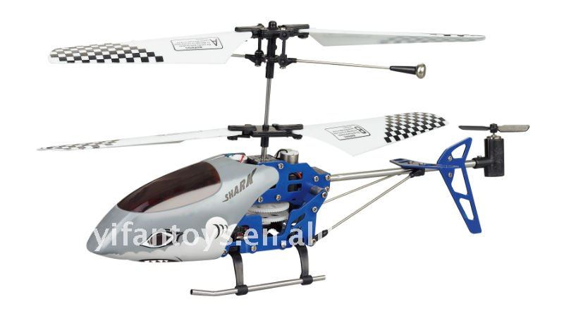 G.T.Model Super 3CH RC Metal Frame Gyro RC Helicopter