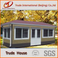 beautiful prefabricated house for holiday camp