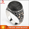 New Thai silver jewelry design imitation plating platinum jewelry design restoring ancient ways is 925 sterling silver ring