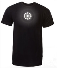 Men's fashion wholesale iron man led t srhit china custom t shirt