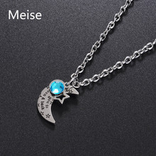 Yiwu Meise Wholesale crescent moon druzy crystal pendant