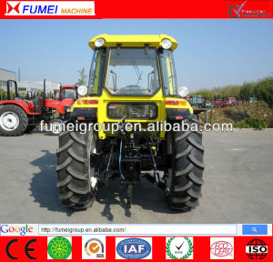 100hp 4 wheel drive tractor with implements