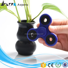 Glow fidget spinner with hybrid ceramic bearing 608 Aspero new plastic Fidget hand Spinner