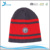 Men's winter Warm Knitted Fashionable custom applique pattern beanie hat cap
