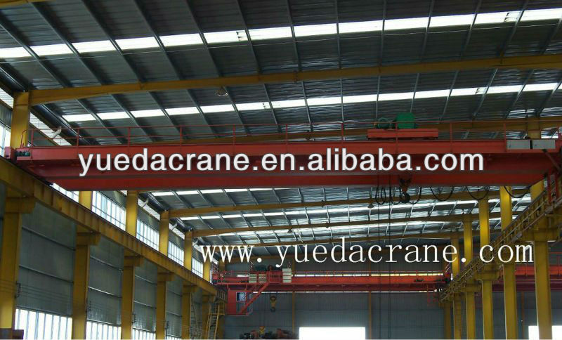 5 to 50 ton LH Type Double Girder Electric Hoist Overhead Crane, Electric Hoist Double Girder EOT Crane