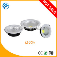 House lighting 12w COB LED downlight trimless recessed gypsum light