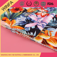 Famous Brand Alibaba china Cheap jersey polyester and spandex fabric