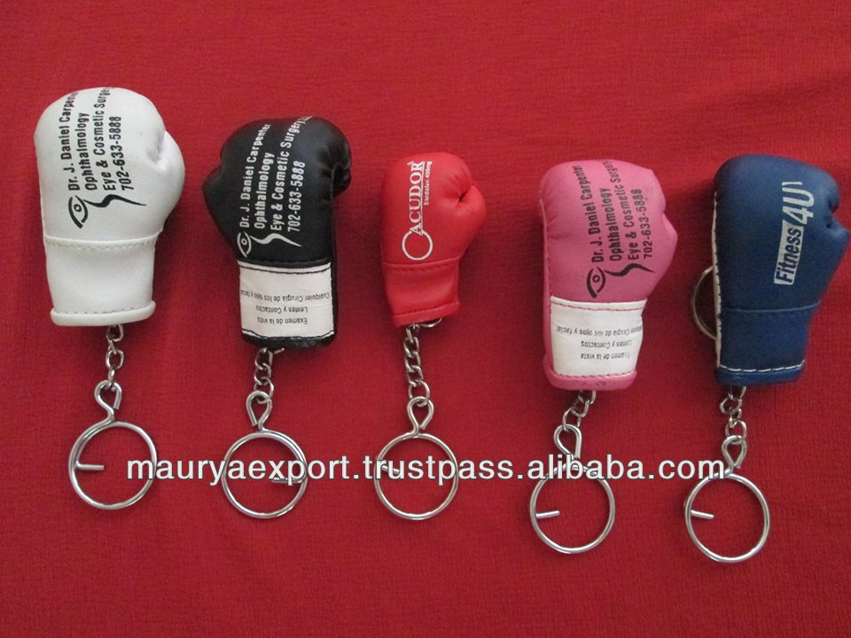 BOXING GLOVE KEY CHAIN, CUSTOM KEY CHAIN