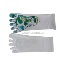 Acupuncture points spa gel moisture socks/moisturizing gloves and socks
