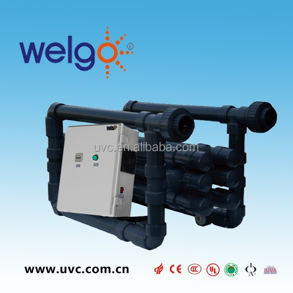 PVC UV steriliser for Swimming Pool Water Sterilization
