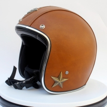 vintage open face helmet with visor motorcycle helmet