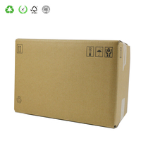 Eco Friendly Printed Products Packaging cardboard postal boxes