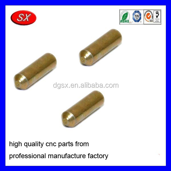 copper pivot brass dowel hollow brass pins,12 pin connector door brass pin