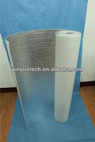 metallized foil foam flame sun insulation reflective material for roof/wall/floor/pipe