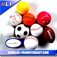 pu foam anti stress ball custom stress PU foam ball