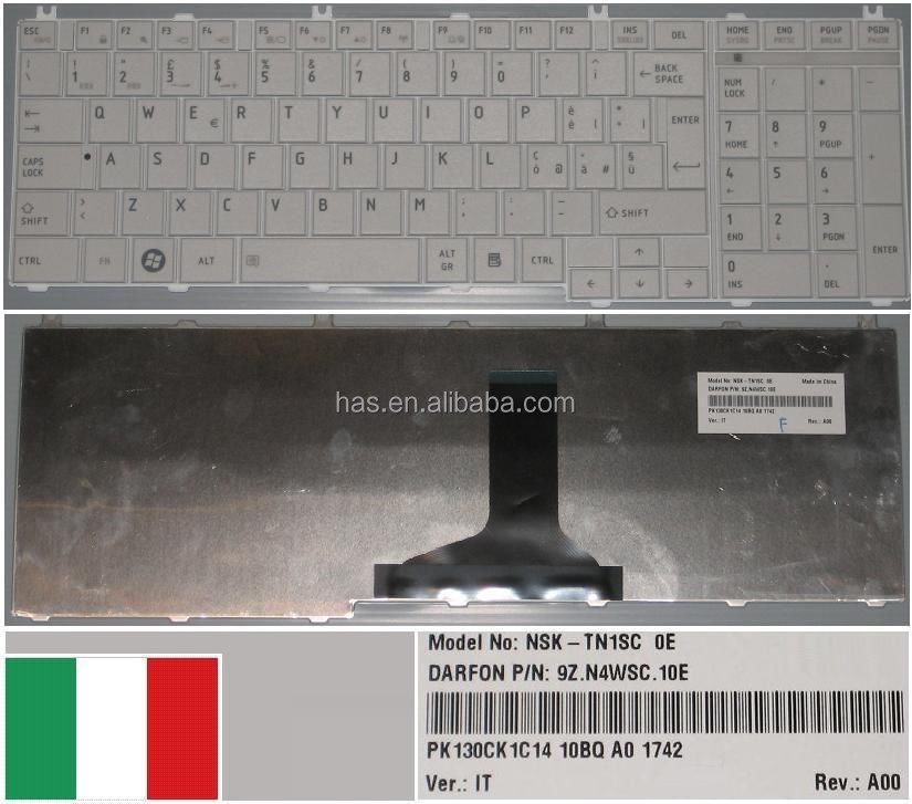 Original Laptop Keyboard For ToshibSatellite C650 C655 C655D L650 L655 L670 L675 C660 Laptop Keyboard