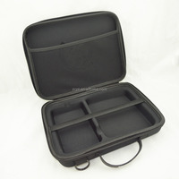 Black Nylon Hard Case, EVA Tool Case for Organize Tester and Accesssories