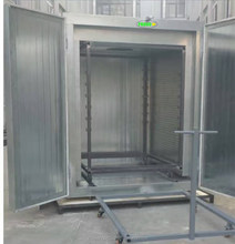 sale rock wool board paint curing oven for automatic powder coating production line