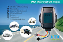 with web software platform Concox gps tracker with cigarette lighter and car charger