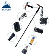 Factory wholesale wood handle light weight walking sticks for disabled