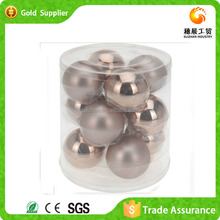 New Arrival Popular Clear Plastic Seamless Ornaments