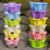 Vertical home tower garden stackable plant pots for strawberry vegetable and flower